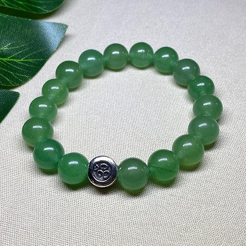 Pulseira OHM - Quartzo Verde