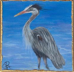 Small Treasures Great Blue Heron