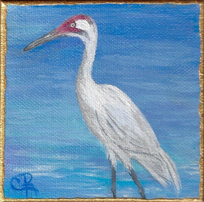 Small Treasures Whooping Crane