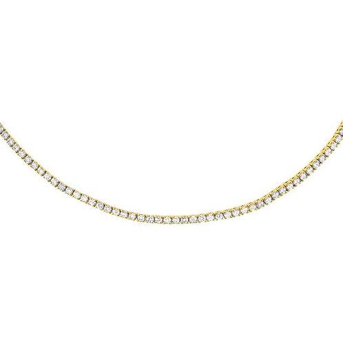 2ct Diamond Choker Necklace