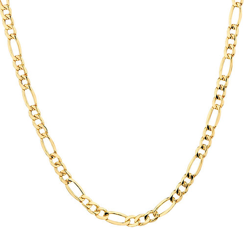 "14kt Gold Figaro  24"" Chain"