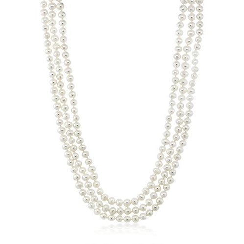 "72"" Freshwater Pearl Necklace"