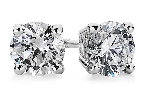 1Ct Stud Earrings(Light performance rated to Sparkle in top 5%