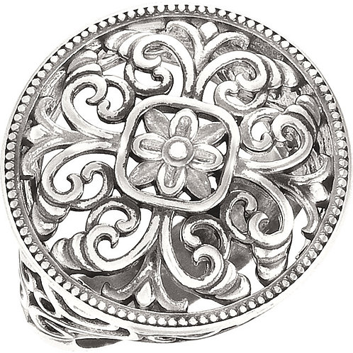 Orleans Filigree Ring in Sterling Silver