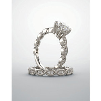 """Sencerity"" 14kt White Gold"