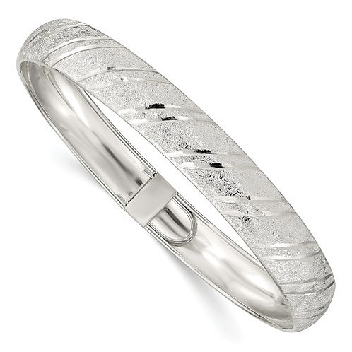 Sterling Silver Flex Bangle