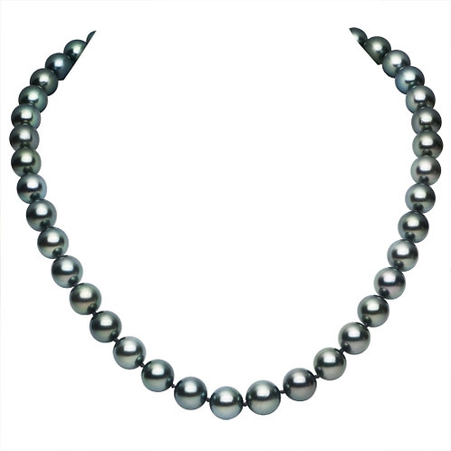 True Grade A Tahitian Pearl Necklace 18""