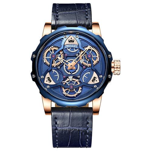 Pre Order Blue & Gold Watch