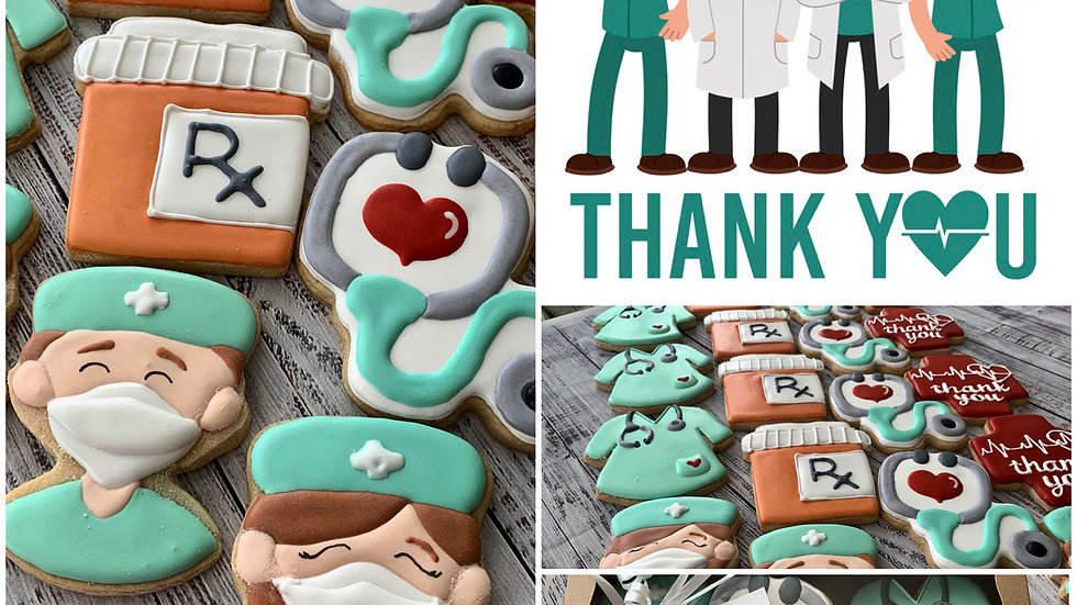 Medical Staff Appreciation Cookies