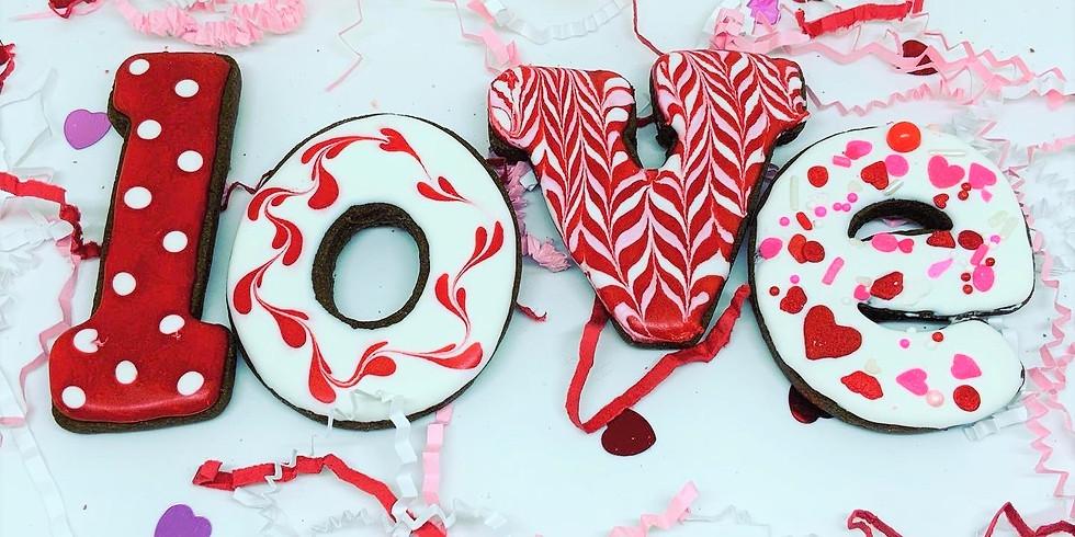 Valentine Cookies - pre orders happening on Facebook