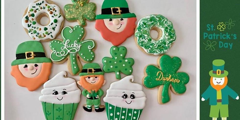 St. Patrick's Day Cookies - pre orders happening on Facebook