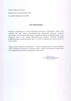 Biegła Sądowa Pani Barbara Filipowicz-Woźniak