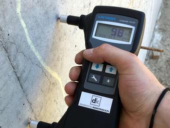 ACSys UK1401 Surfer badanie betonoskopem