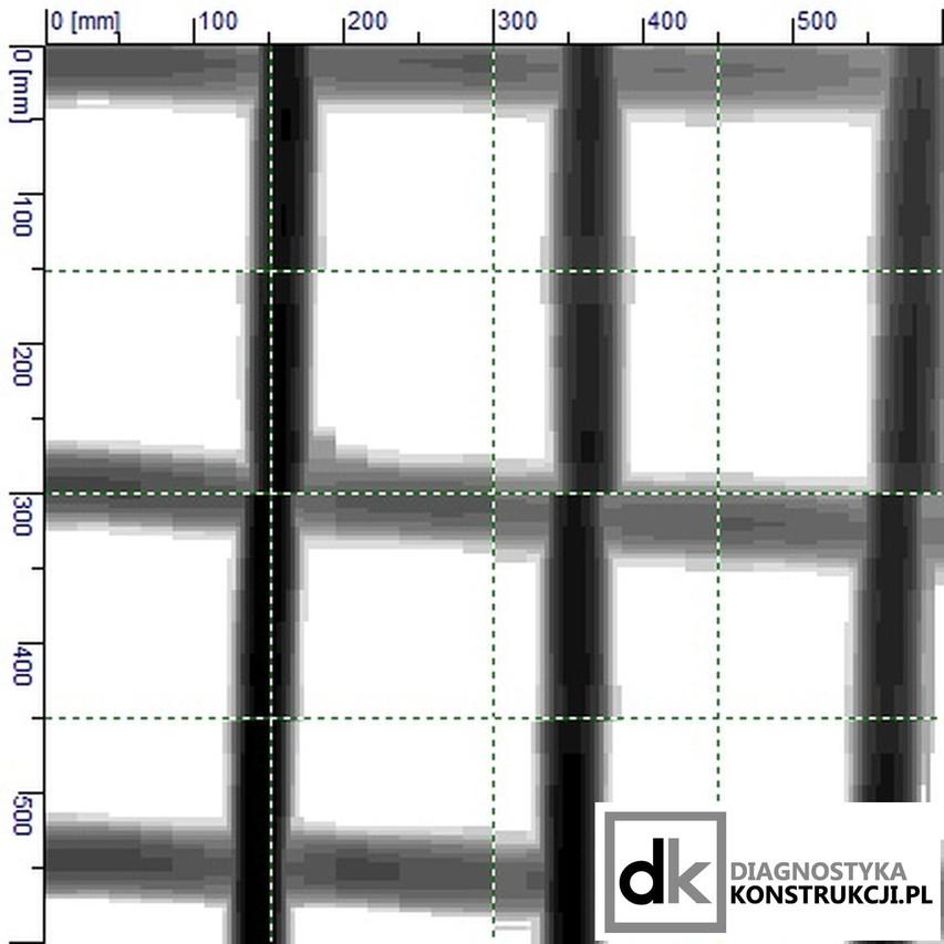 Skan obrazowy konstrukcji (Imagescan) przed analizą w oprogramowaniu