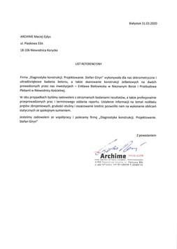 ARCHIME Maciej Ejdys