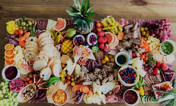The Feast 1/2 Square Metre