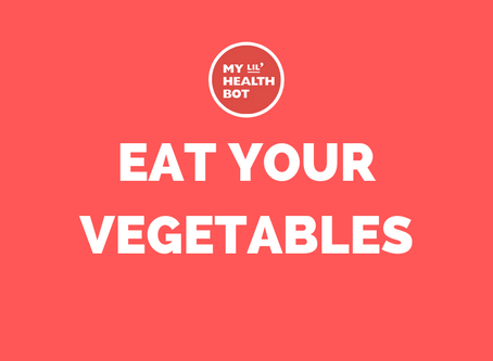 HAPPY EAT YOUR VEGETABLES DAY