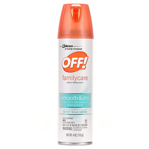 Off Family Care - Smooth & Dry bug repellent