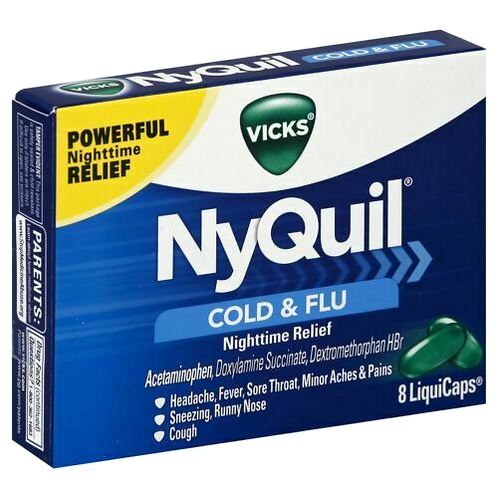 Nyquil 8 caplets