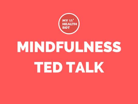 MINDFULNESS TED TALK