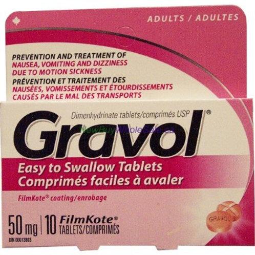 Gravol Original Tablets