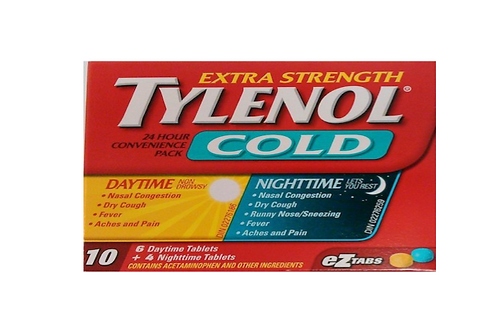 Tylenol Cold Day & Night 10