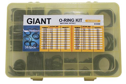 Kit Oring Giant - Hitachi (nbr 90)  - 383 peças