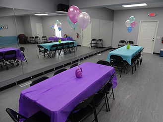 Legacy Dance Productions Birthday Party Venue Zebulon NC