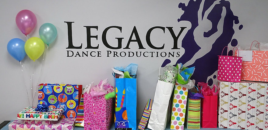 Dance and Tumble Birthday Party Packages
