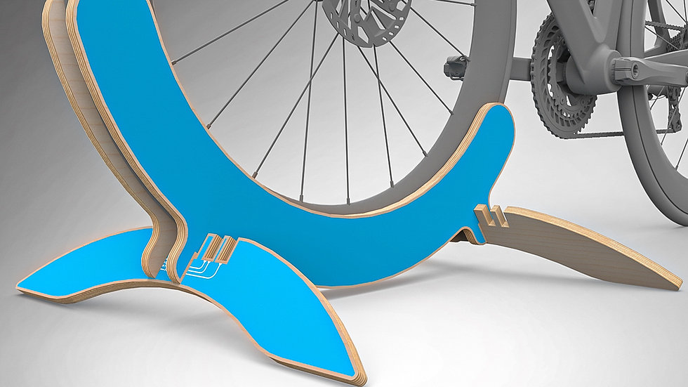 Colour Only - Bike Stand