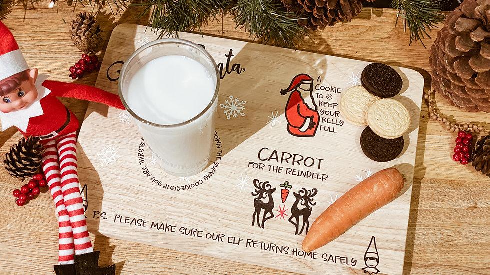 Santa Serving Tray
