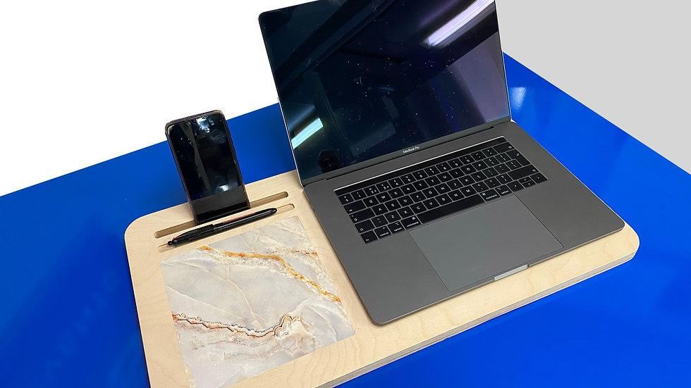 Light Grey Marble - Lap Desk