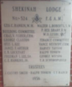 shekinah lodge 524