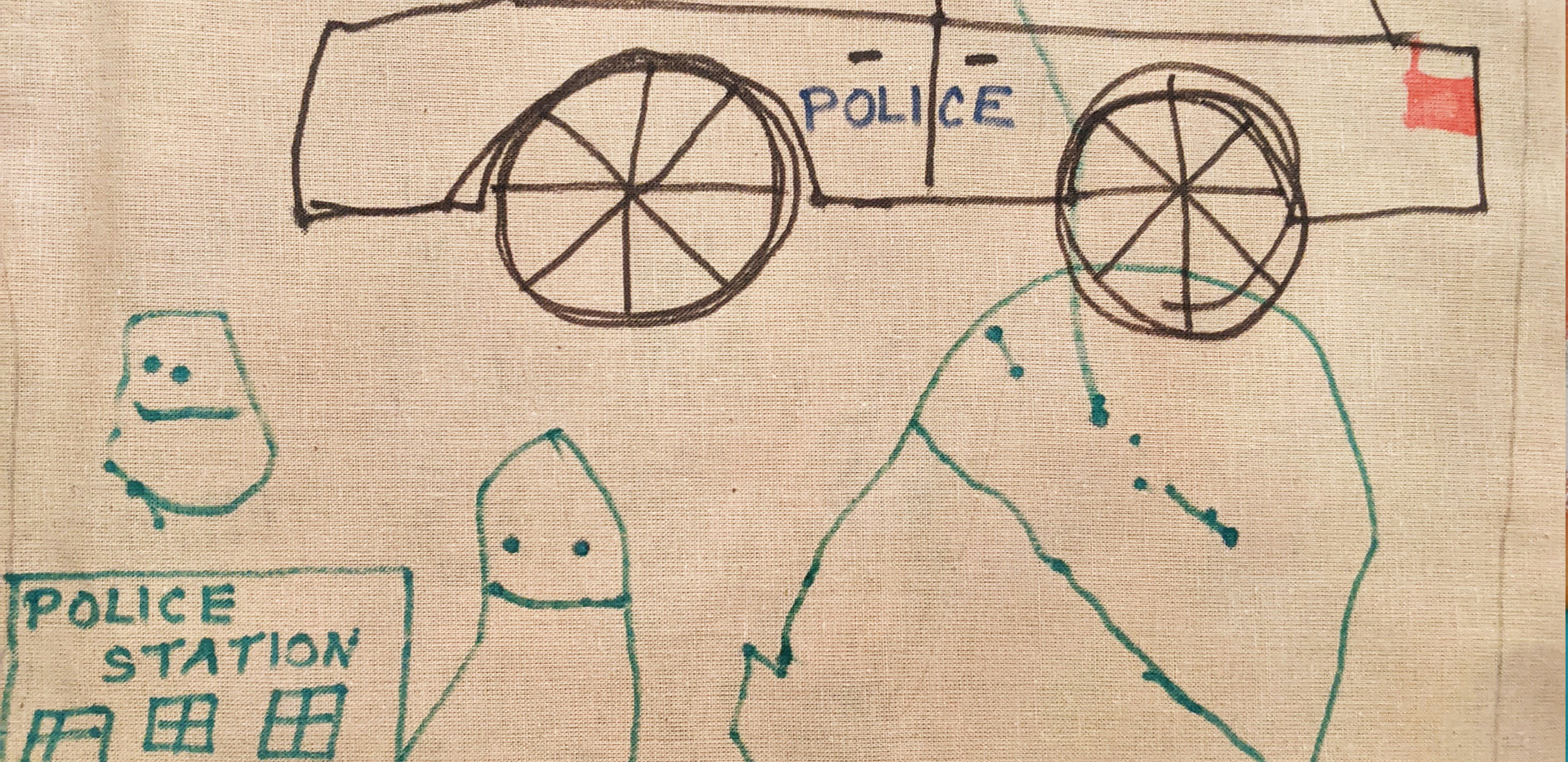 God Bless YouPolice Station Nicklas Age5