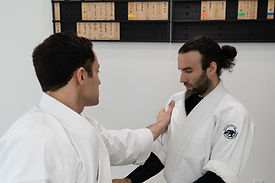 Aikido being practiced by martial artists in Palm Harbor Florida