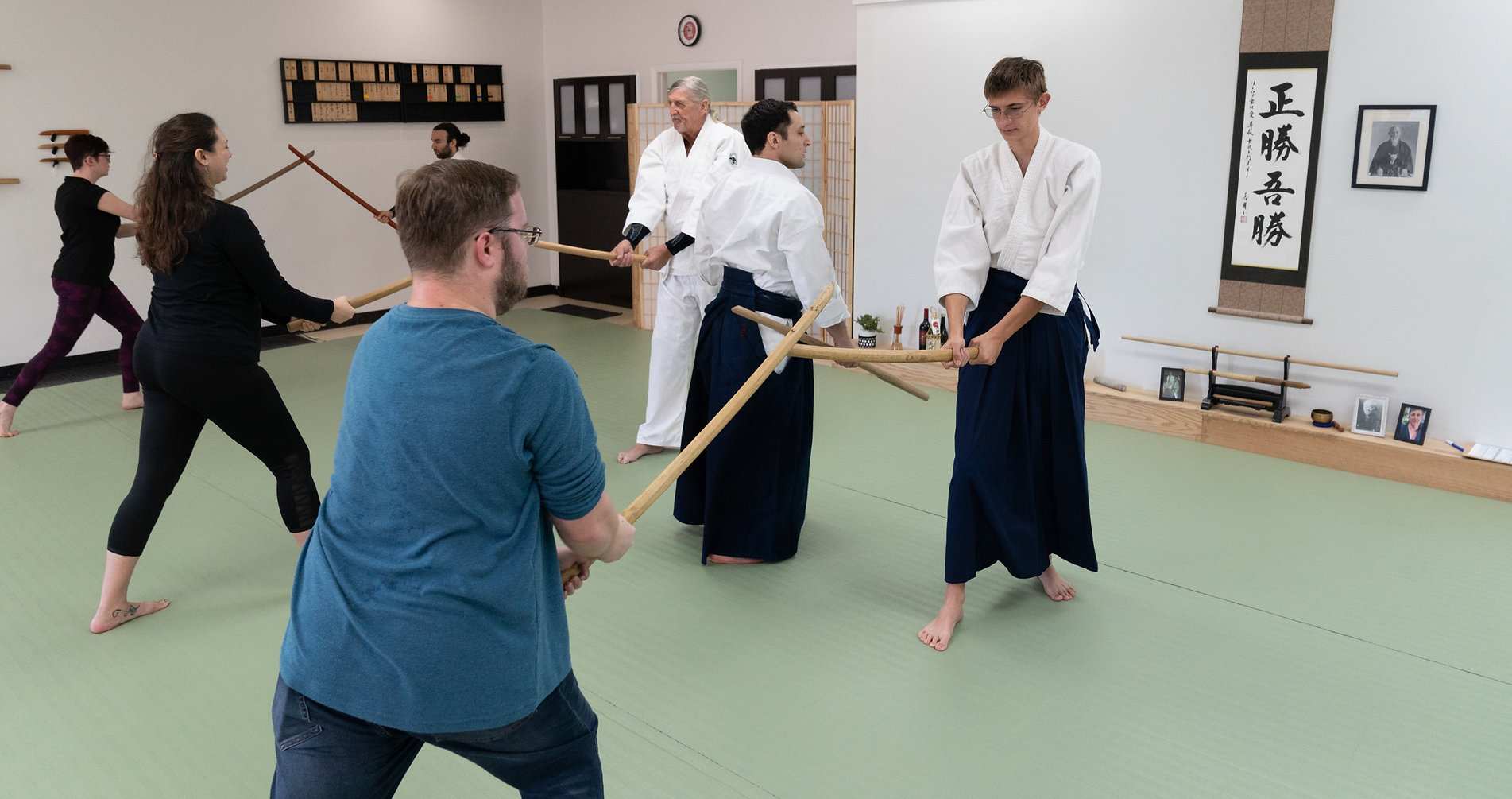 Community Day Aikido Weapons