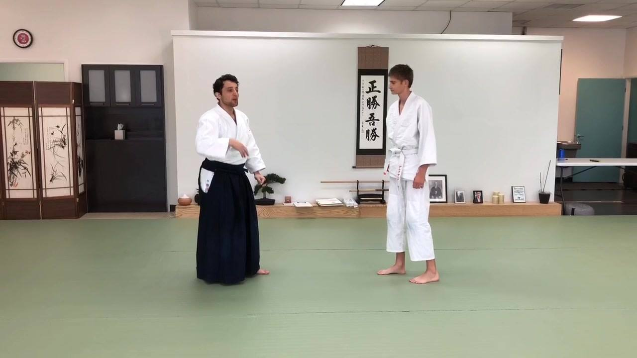 5th kyu: Ryotedori Tenchinage