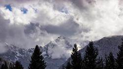 ...Spanish-Peaks in Winter...