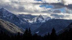 Spanish-Peaks in Winter...