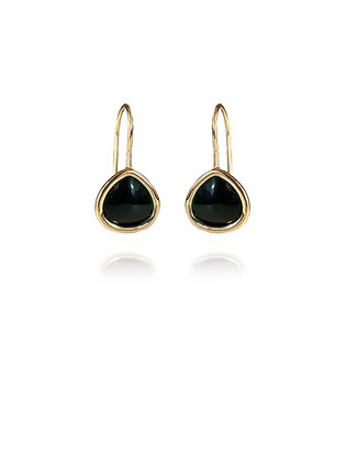 Black Dew Earrings