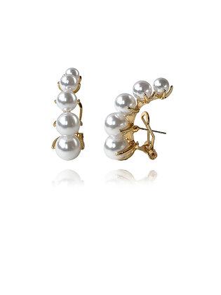 Elenore Pearl Earrings