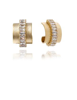 Wedding jewelry, Crystal Earrings,LakooDesigns, cubic zirconia, bride earrings, simple bride