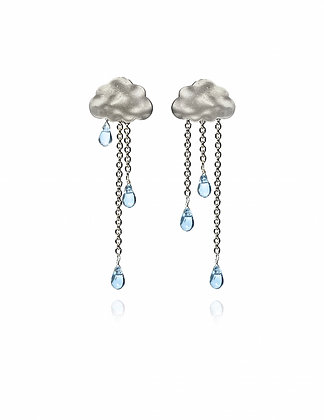 Silver Cloud Rain Drops