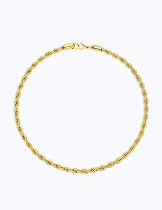 gold chain, chain layer,lakoodesigns, rope chain