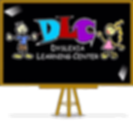 "Dyslexia Learning Center logo with catchphrase: ""Give your child the tools to succeed!"""