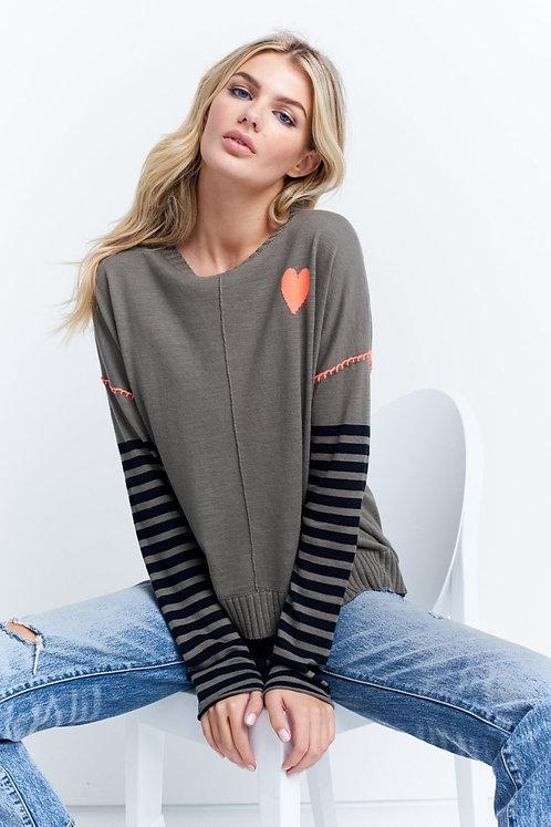 Lisa Todd-Love on the run sweater