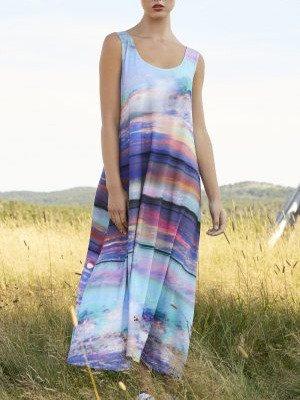 Nadya Toto Solar beach Dress