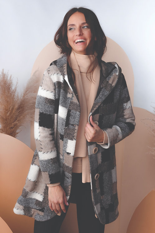 Alison Sheri 3/4 Cardigan Coat