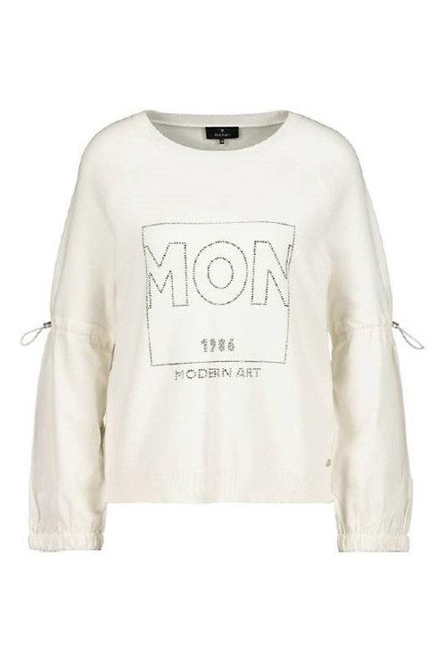 Monari  Puffy Sleeves Top