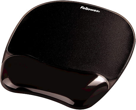 Fellowes Gel Mouse Pad תומך לפרק כף היד